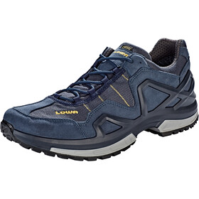 Lowa Gorgon GTX Shoes Men, steel blue/mustard